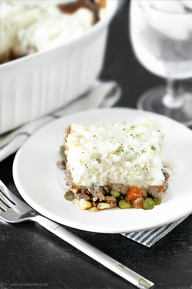 Dinner is served, Shepherd's Pie