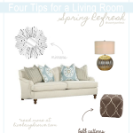 Four Tips for a Living Room Spring Refresh