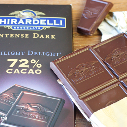 Guilt Pleasures and Perfect Pairing with Ghirardelli Intense Dark Chocolate