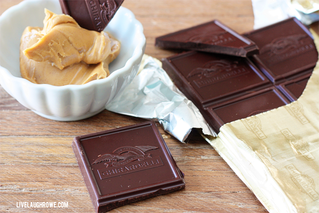 Guilty Pleasures and Perfect Pairings with Ghirardelli and Peanut Butter