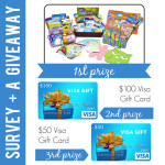 Kids Craft Survey + Giveaway