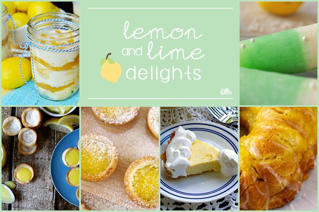 Lemon and Lime Delights with livelaughrowe.com
