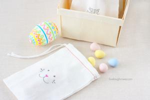 Muslin Easter Treat Bags