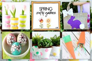 Spring Crafty Goodness | live laugh linky #106