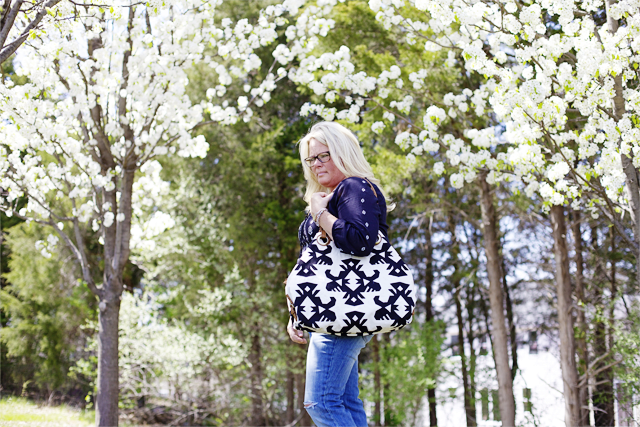 Tribal bag is darling by Lucky Brand