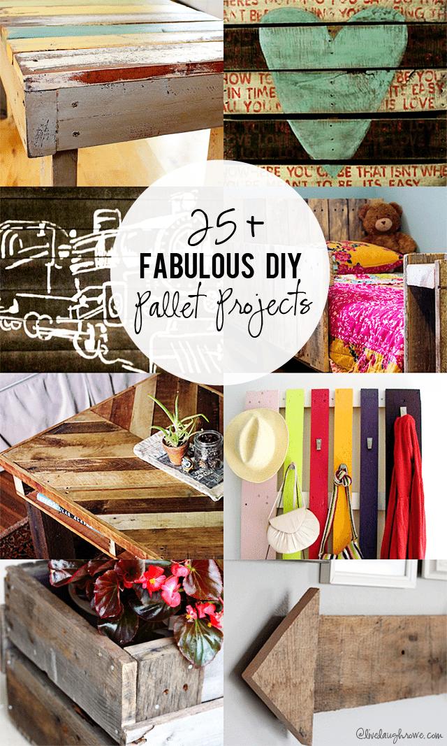 25 Diy Fabulous Pallet Projects Live Laugh Rowe