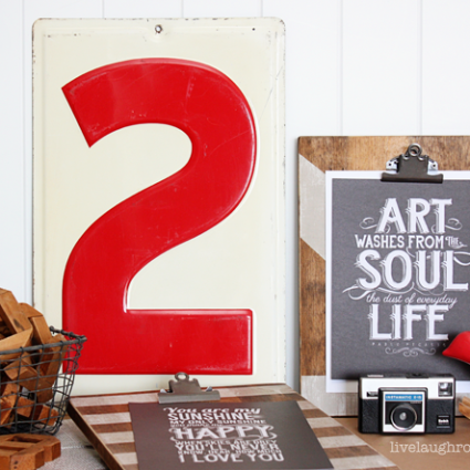 Beautiful DIY Photo or Printable Clipboards!