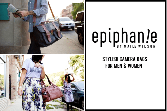 Epiphanie Camera Bags by Maile Wilson
