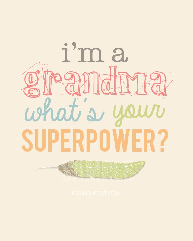 Super cute! Superpower Mothers Day Printable.