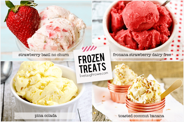 Mouthwatering Frozen Treats