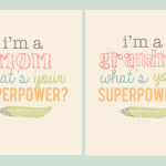 Superpower Mother's Day Printable