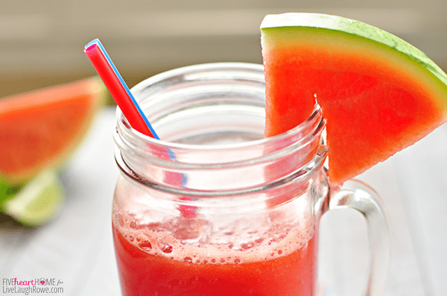 Watermelon Agua Fresca, summer in a cup!