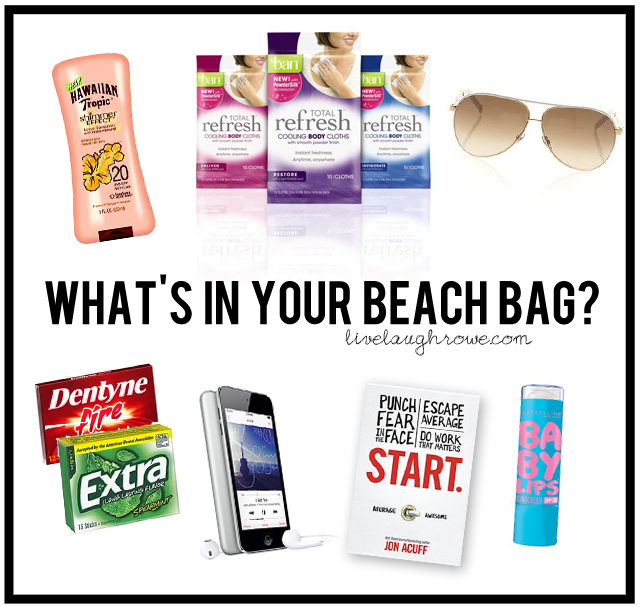 Whats in your beach bag  Sharing a few of my favorite beach bag essentials. 305e459039248