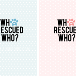 Who Rescued Who? Printable