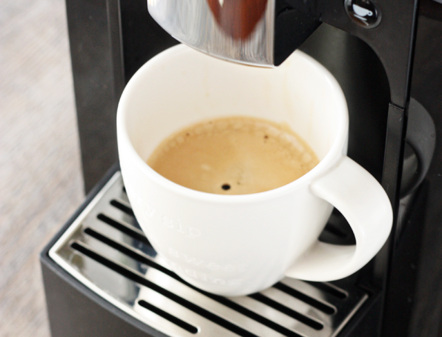 brewed espresso from starbucks verismo