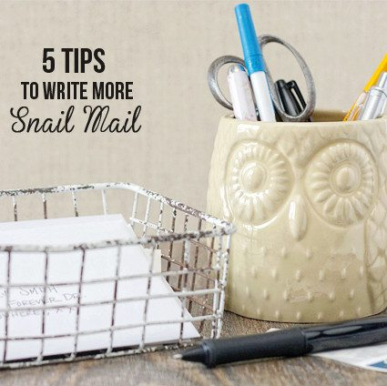 5 Tips to write more snail mail_feature