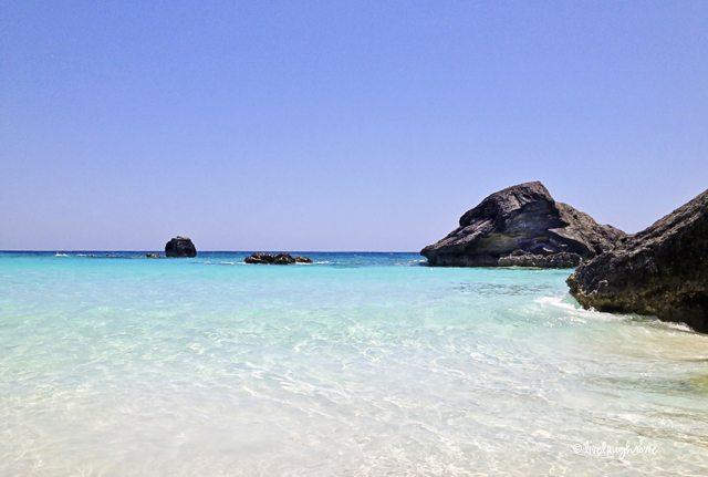 Beautiful Horseshoe Bay in Bermuda