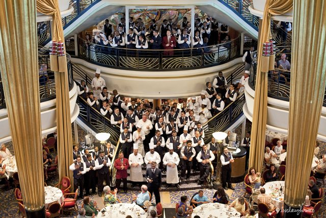 Captains Dinner on Explorer of the Seas