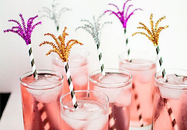 Fireworks Drink Stirrers from Homey Oh My