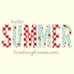 Hello Summer Printable
