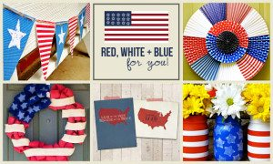 Red, White and Blue | live laugh linky #117