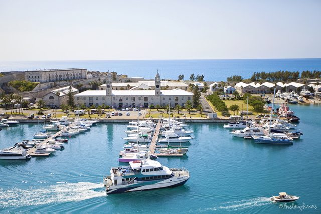 Royal Navy Dockyard_Kings Wharf in Bermuda