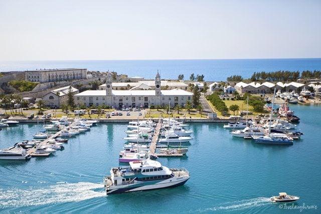 Royal Navy Dockyard_Kings Wharf in Bermuda