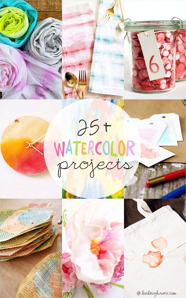 25+ Watercolor Projects