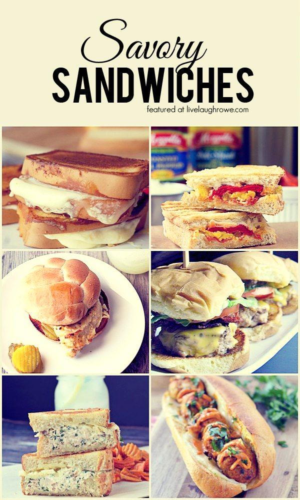 Savory Sandwiches