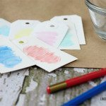 Simple Watercolor Gift Tags
