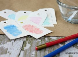 Waterclor Gift Tags