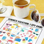 Summer Vacation I Spy Printable