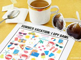 Summer Vacation I Spy Game