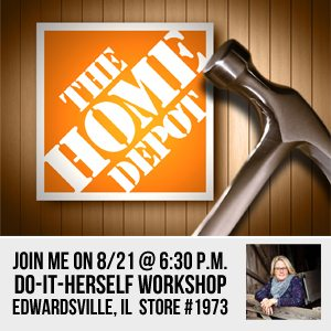 Do-It-Herself Workshop at Home Depot
