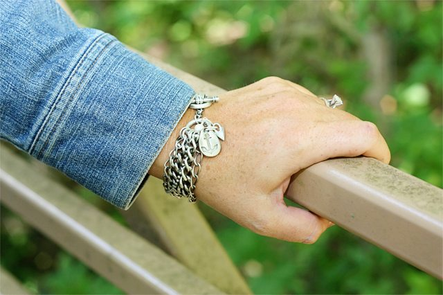 Love is my anchor bracelet by Lisa Leonard Designs