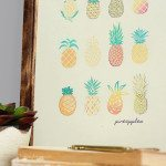 Free Pineapple Printable for the Home