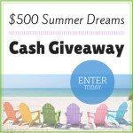 Summer Dreams Cash Giveaway