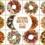 Autumn Wreaths for the Home