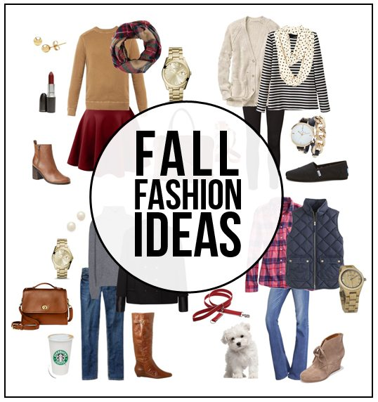 Fabulous Fall Fashion Ideas -- favorites of mine! Time to do a little shopping before the cool weather rolls in. www.livelaughrowe.com