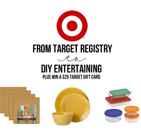 Design the home and life you want with a Target registry -- and do a little DIY Entertaining. More info at livelaughrowe.com