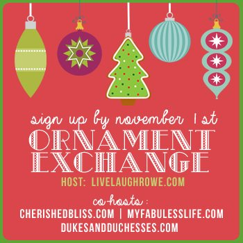 Christmas Ornament Exchange 2014