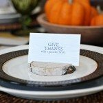 DIY Birch Place Card Holders and Printable