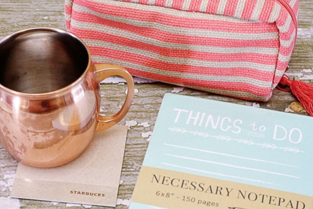 Favorite Things Giveaway. Copper Mug, Tablet and Makeup Bag - Live Laugh Rowe