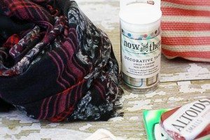 Favortie Thing Giveawy. scarf, washi tap and makeup bag