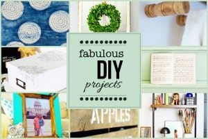 Fabulous DIY Projects featuring YOU! www.livelaughrowe.com #diy