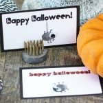 Halloween Thumbprint Printables