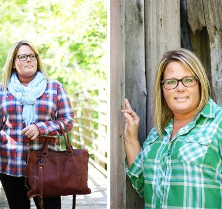 Flannel shirts from Duluth Trading Company! Perfect and trendy pieces for fall fashion. www.livelaughrowe.com #wiww #flannel