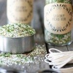 Homemade Savory Herb Rub + Printables