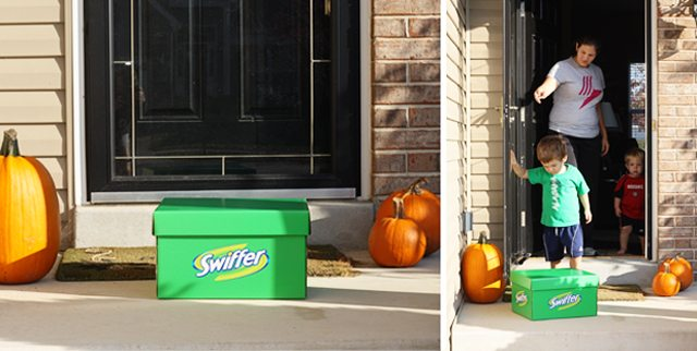Sharing The Big Green Box and the #SwifferEffect with the Chisolms! #SwifferEffect