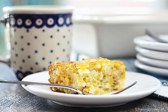 Impossibly Easy Breakfast Bake That Can Feed A Crowd Make Ahead Of Time Over The
